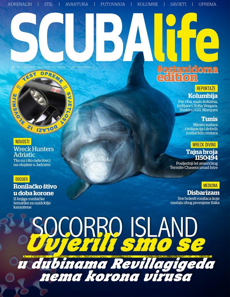 SCUBAlife # 39 / ostani doma edition